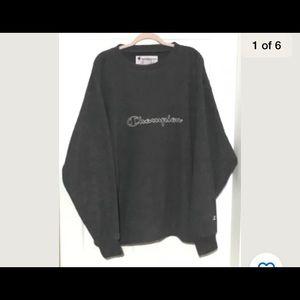 Women's champion xxl 2X Gray sweatshirt sweater